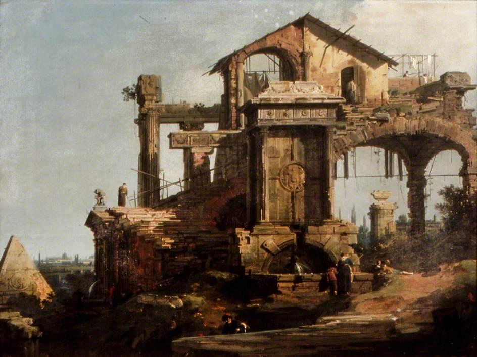 Ruinous Building, Rome