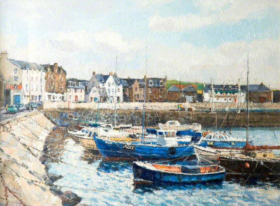 Stonehaven Harbour, Aberdeenshire