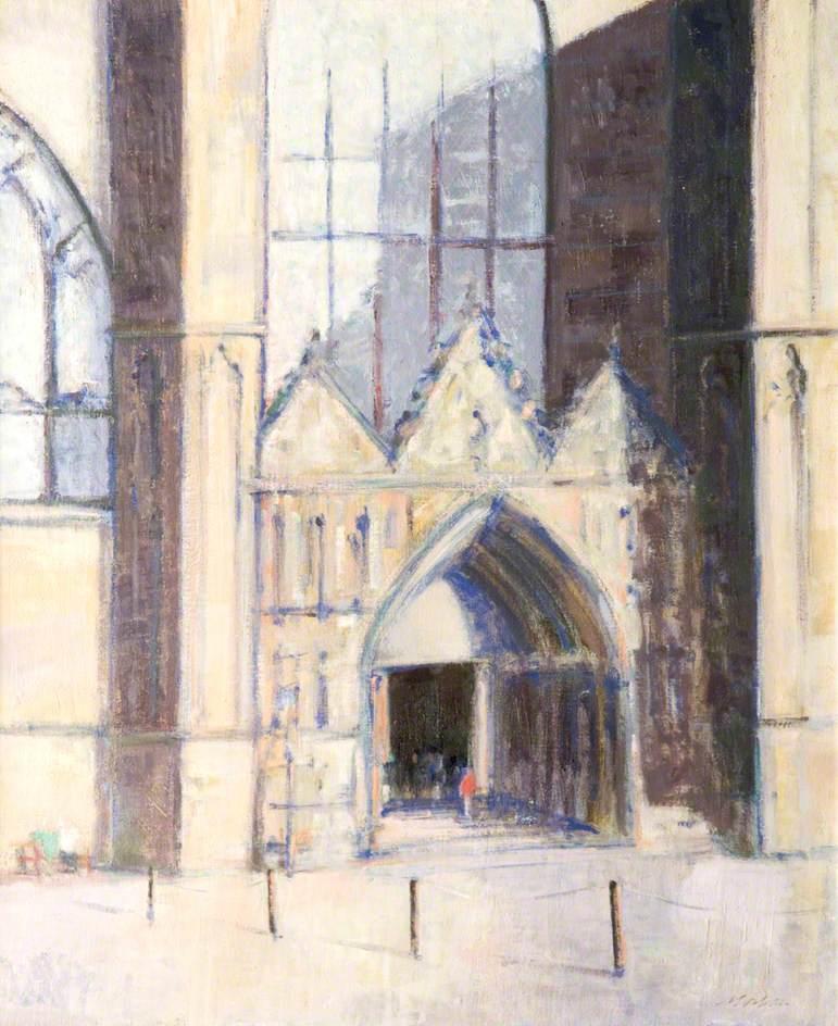 October Sunlight, St Giles' Cathedral, Edinburgh