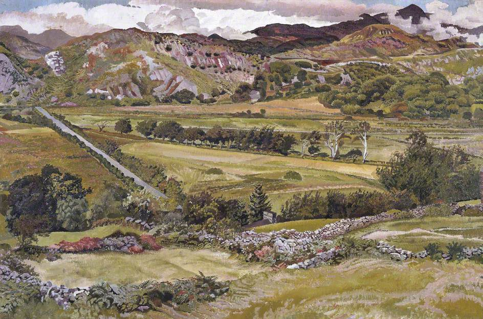 Snowdon from Llanfrothen
