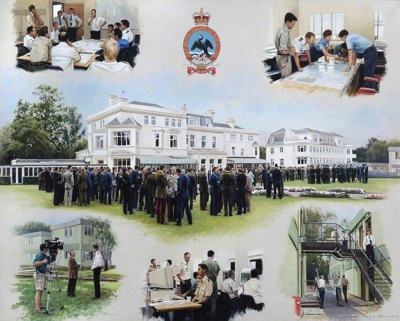 Joint Services Command and Staff College at Ramslade House, Berkshire