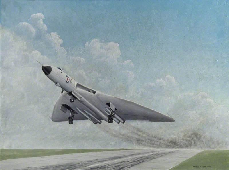 Vulcan Taking Off