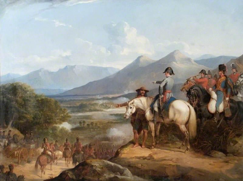 The Battle of Vitoria, 21 June 1813
