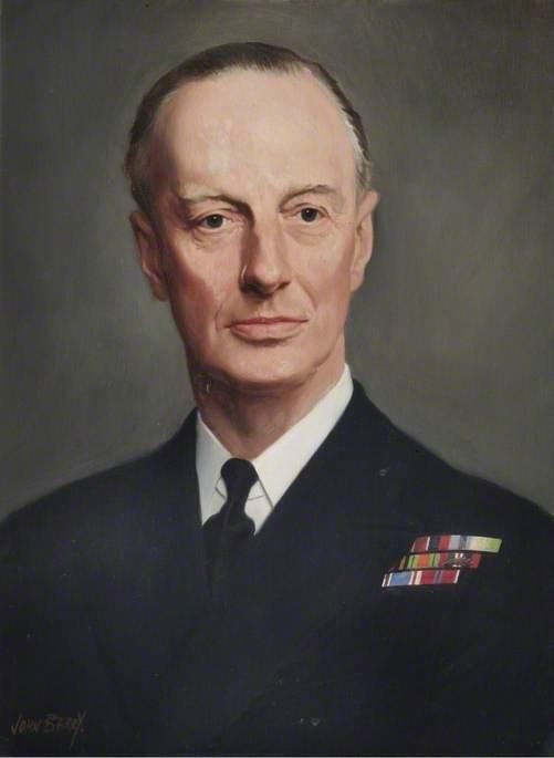 Rear Admiral W. K. Edden (1905–1989), OBE, Commandant (1953–1956)