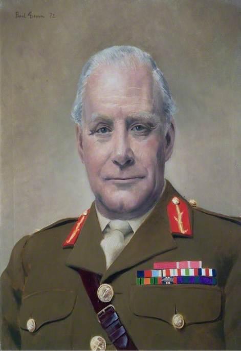 Major General T. D. H. McMeekin (1918–1984), CB, OBE, Commandant (1970–1972)