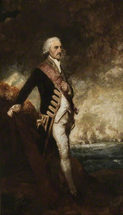 Admiral Lord Rodney (1719–1792)