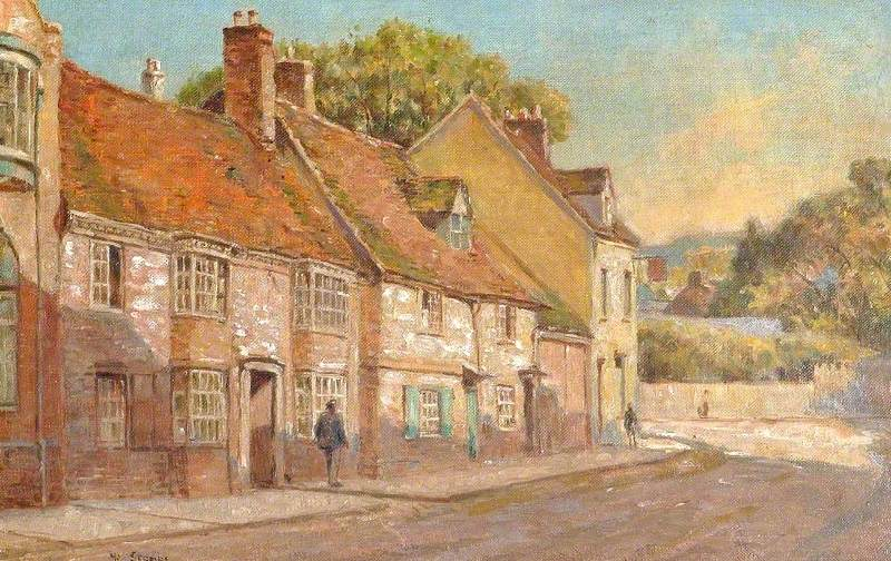 View of St Mary's Street, High Wycombe