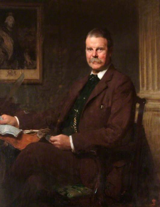 The Right Honourable Tonman Mosley (1850–1933), 1st Baron Anslow, CB