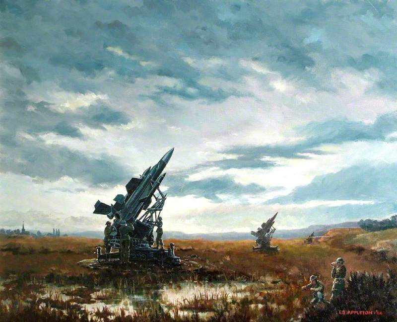 Missiles in a Landscape with Soldiers