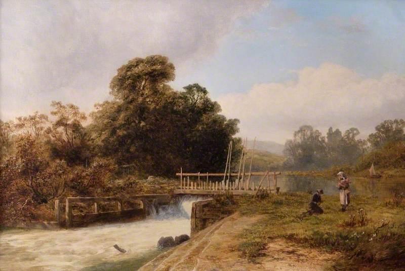 Hambleden Weir, Henley-on-Thames, Oxfordshire