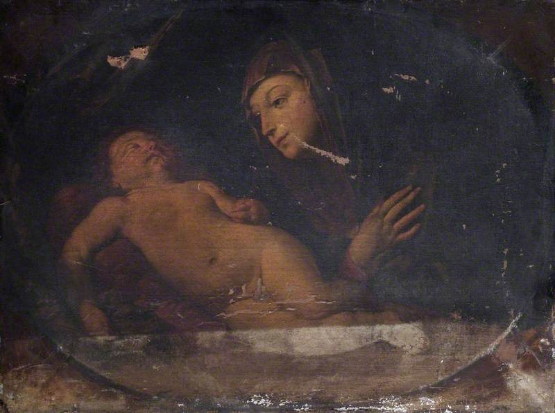 The Virgin with the Sleeping Child