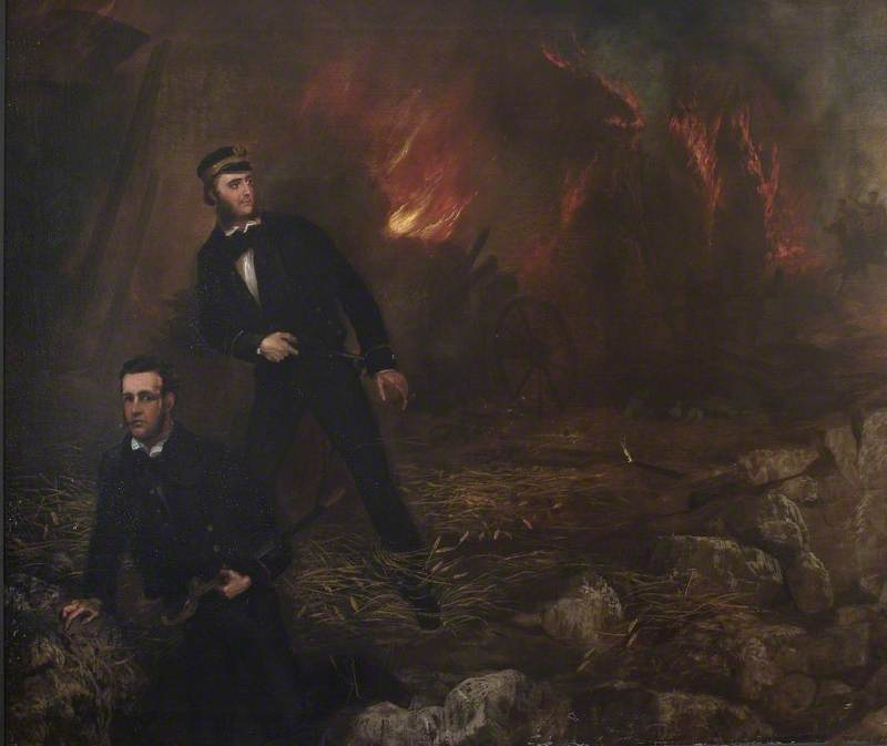 Hugh Talbot Burgoyne (1833–1870), and Cecil William Buckley (1830–1872)