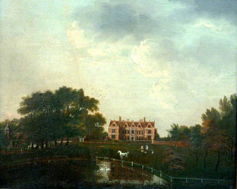 Landscape of Shaw House, Shaw, near Newbury, Berkshire