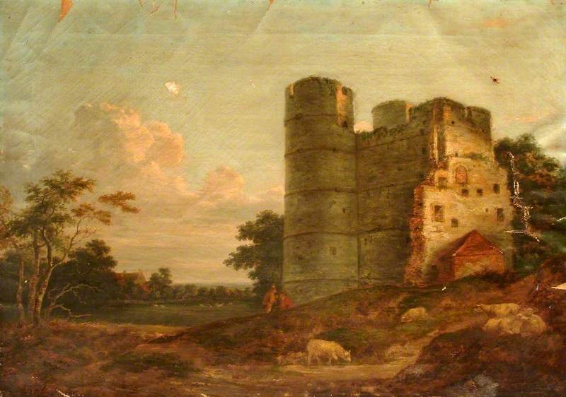 North West View of Donnington Castle, Berkshire