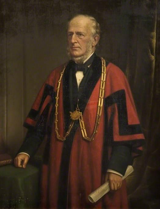 Alderman James Coombs (1813–1905), Mayor of Bedford