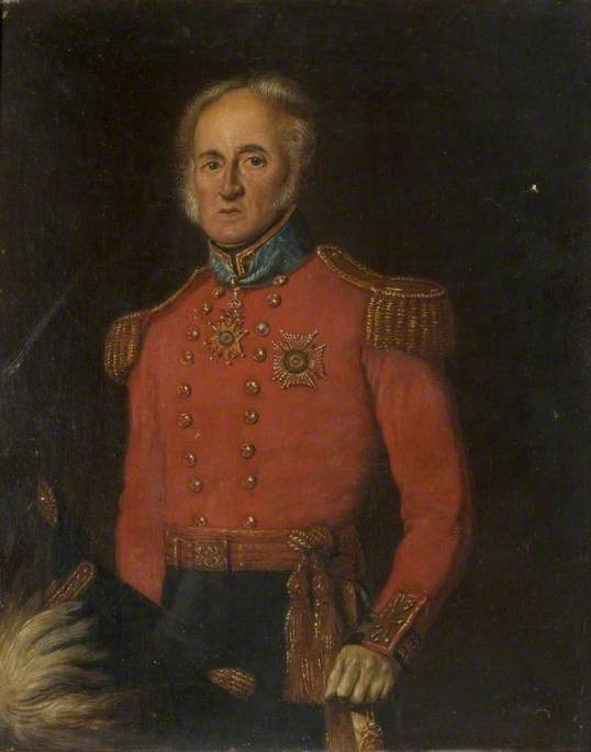 Lieutenant Colonel Sir David Ximenes (1777–1848)