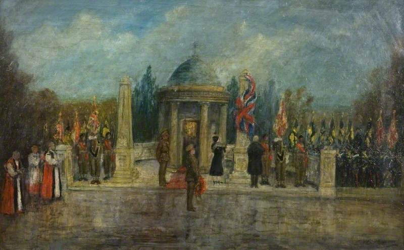 The Unveiling of the Second Obelisk at Kempston Regimental War Memorial