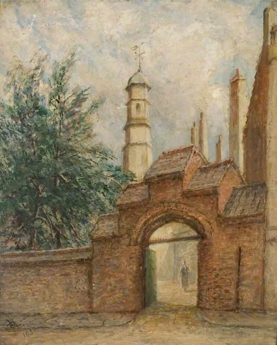 Gateway of Christ's College, Cambridge