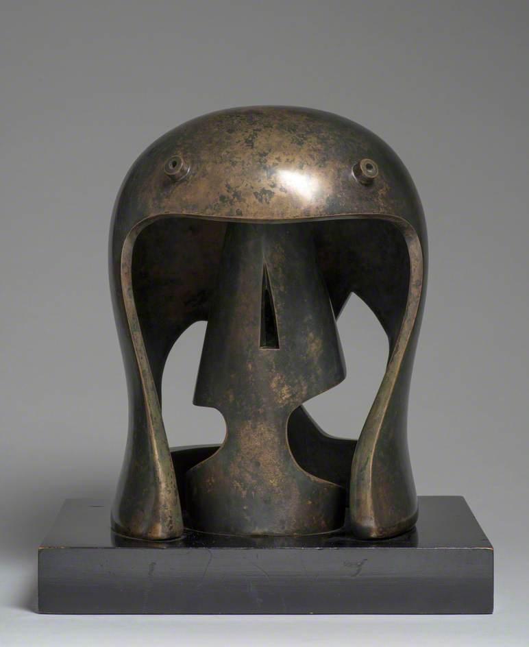 Helmet Head No. 1