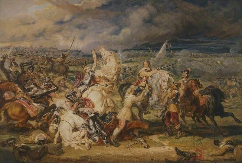 The Battle of Marston Moor, 1644