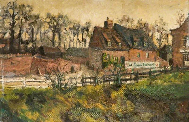 'The Three Pickerels' Public House, near March, Cambridgeshire