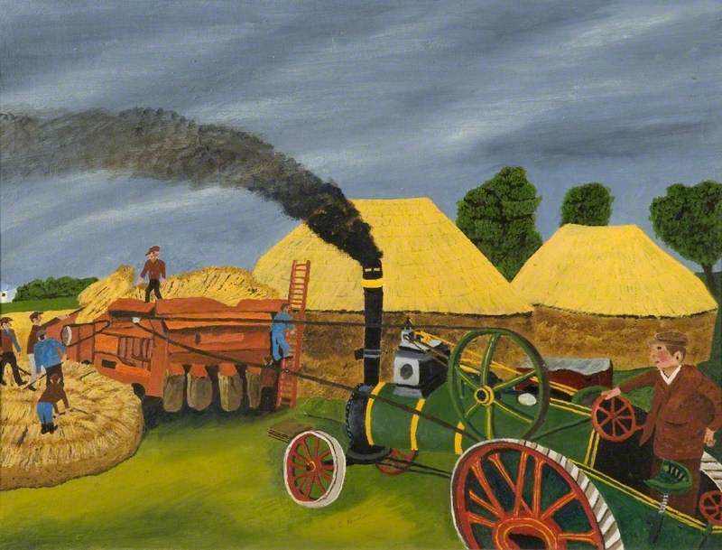 Steam Threshing