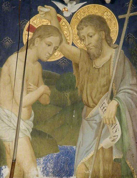 The Baptism of Jesus by St John*
