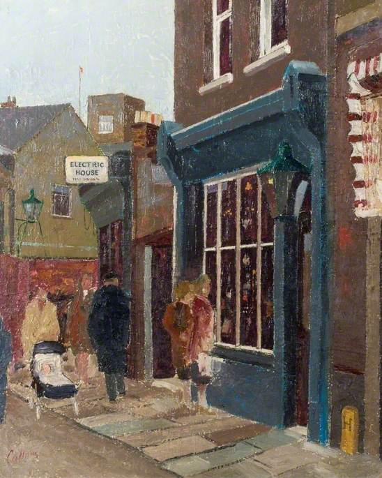 Barber's Lane from Cheapside, Luton, Bedfordshire
