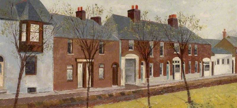 Cottages in Church Street, Luton, Bedfordshire