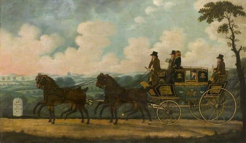 The Royal Manchester Telegraph Coach