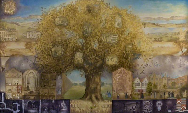The Octavia Hill Story Mural