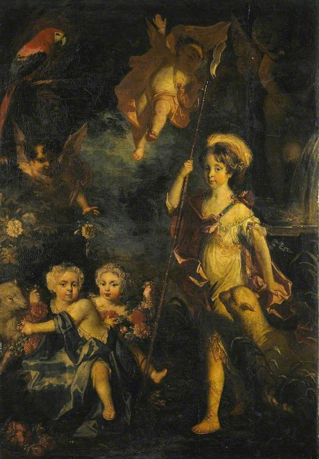 Jemima, Armine and Elizabeth, daughters of Thomas, 2nd Lord Crewe of Stene