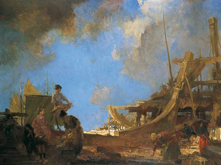 Shipyard Gleaners