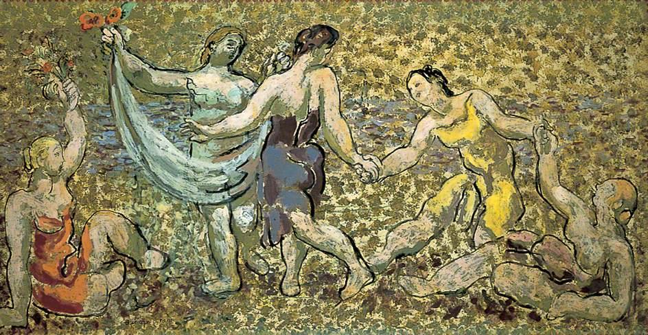 Dancers, a Decoration