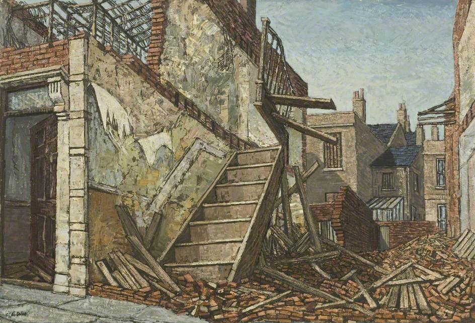Terrace House Demolition, Barton Hill