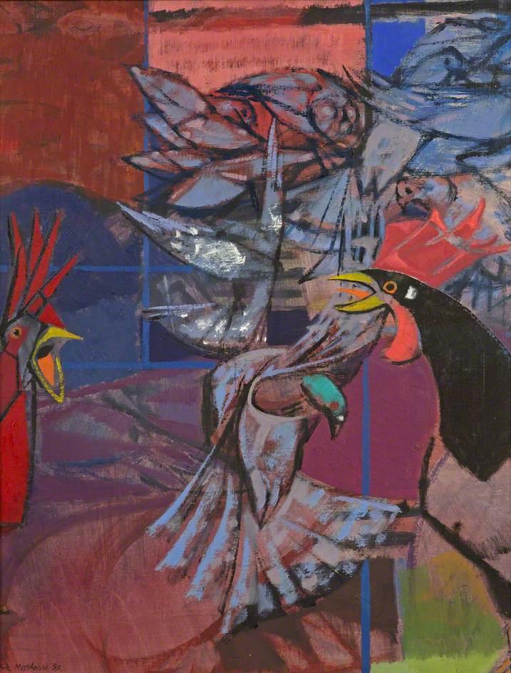 Cock among the Pigeons
