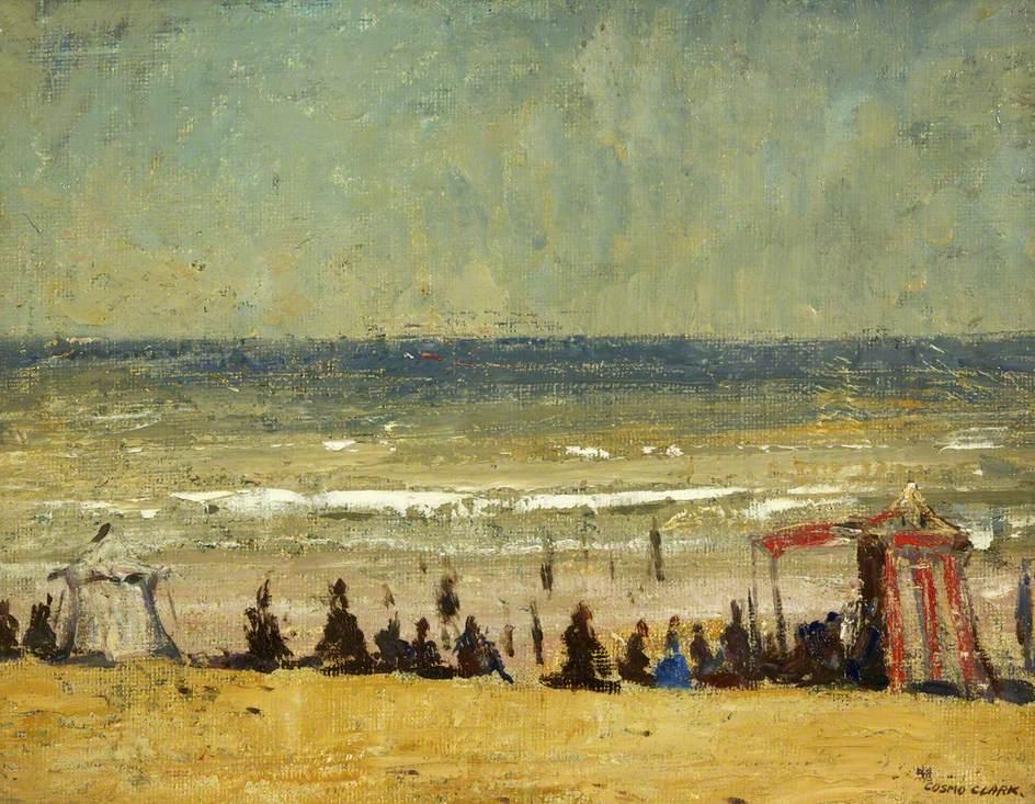 On the Beach, Dieppe