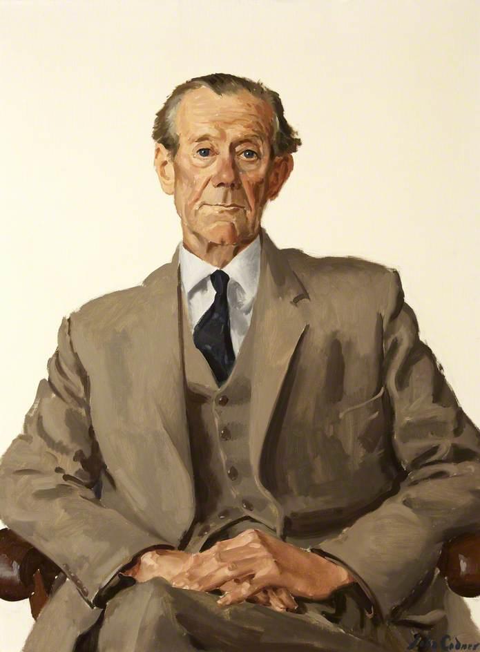 Edmund Poole King, Master (1951), Treasurer (1962–1969)