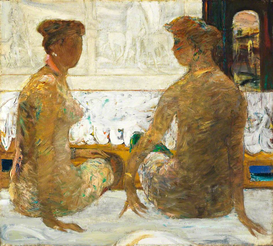 Conversation – Two Seated Nudes