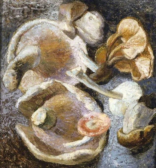 Small Fungus Painting