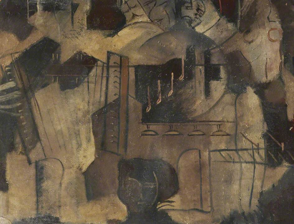 Street-Musicians (Post-Cubist)