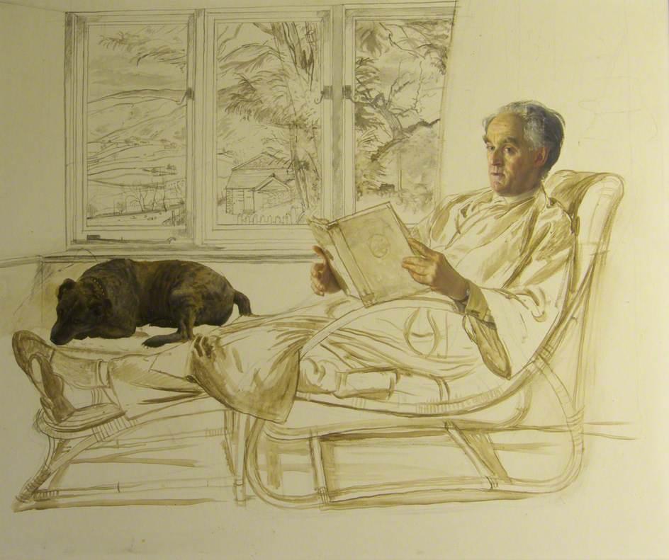 Unfinished Portrait of Alistair Morton