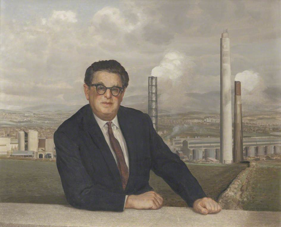 Frank Schon (1912–1995), One of the Founders of the Marchon Chemical Factory
