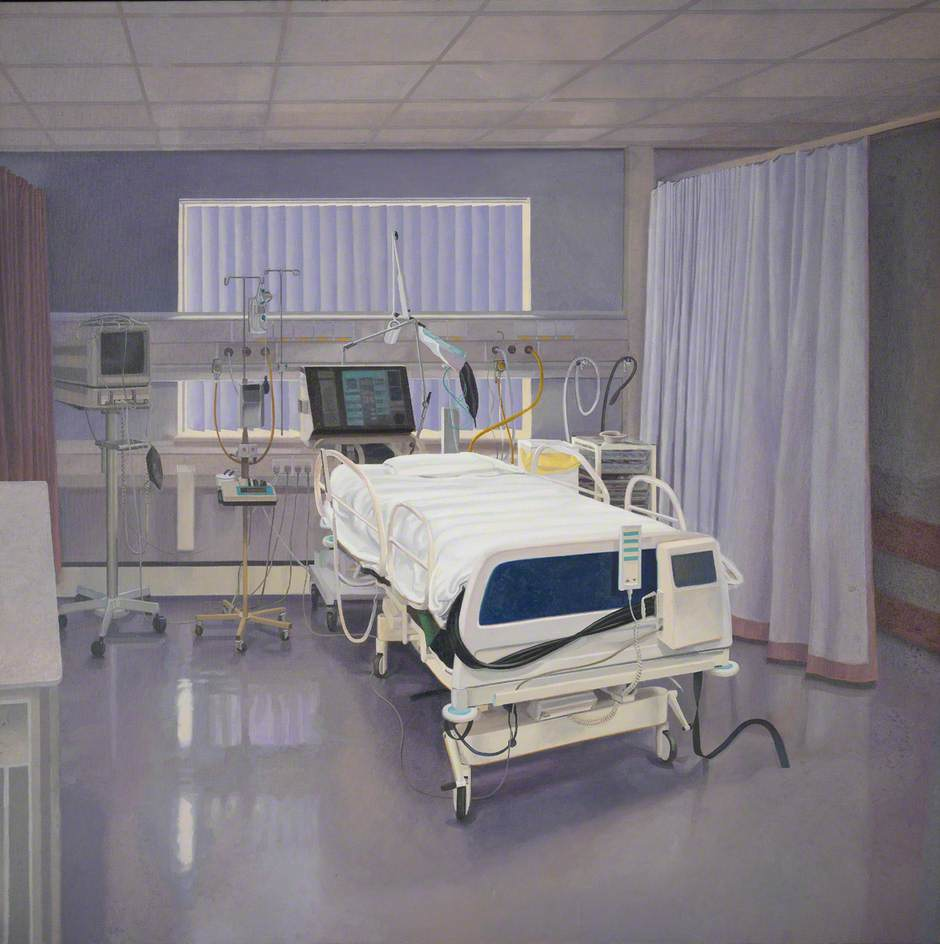 An Intensive Care Unit in a Hospital