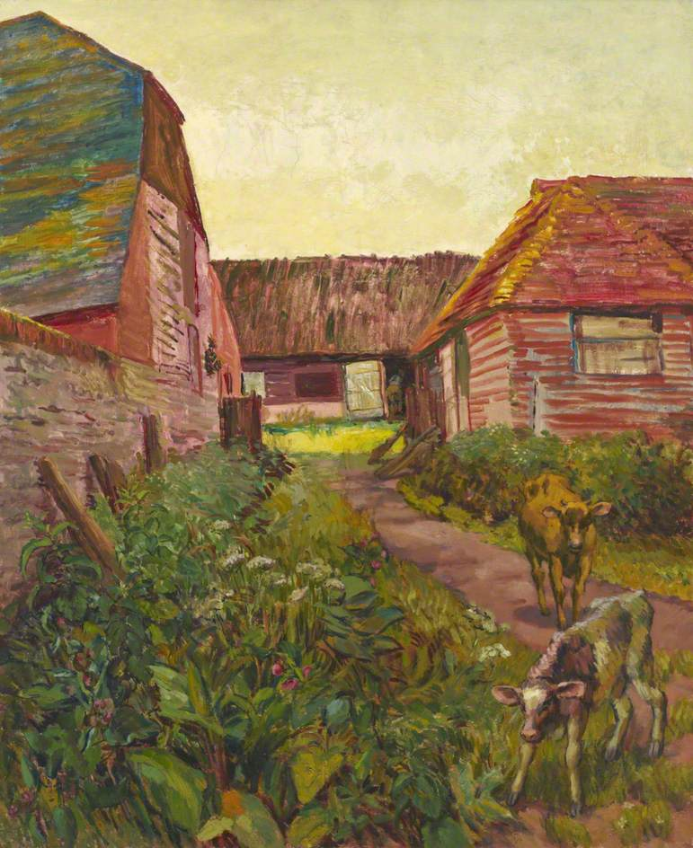 Farmyard Buildings at Charleston, Sussex