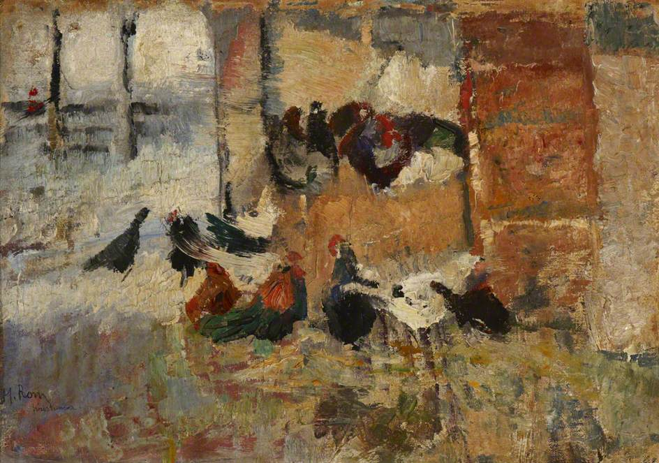 Barnyard Scene
