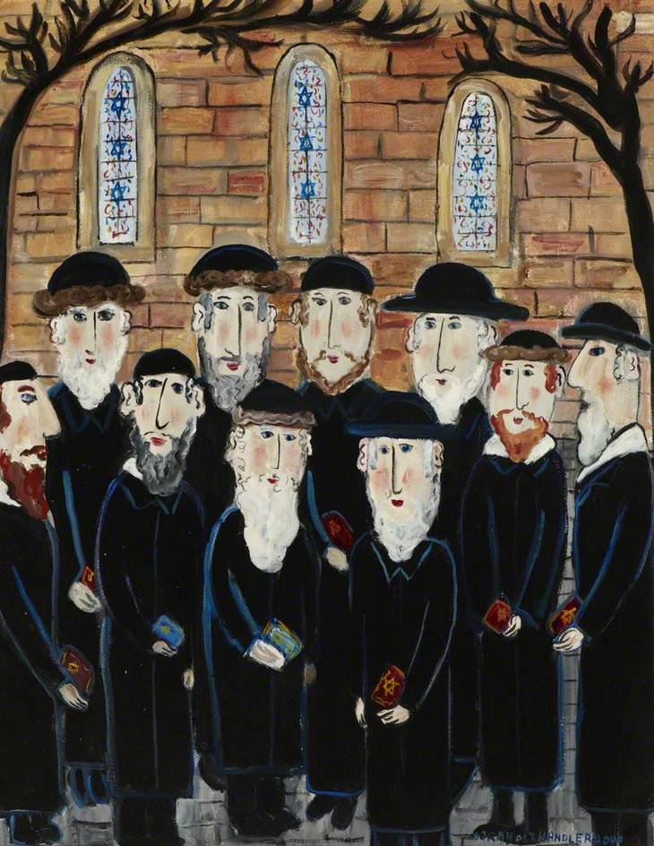 Group of Jews: The Minyan