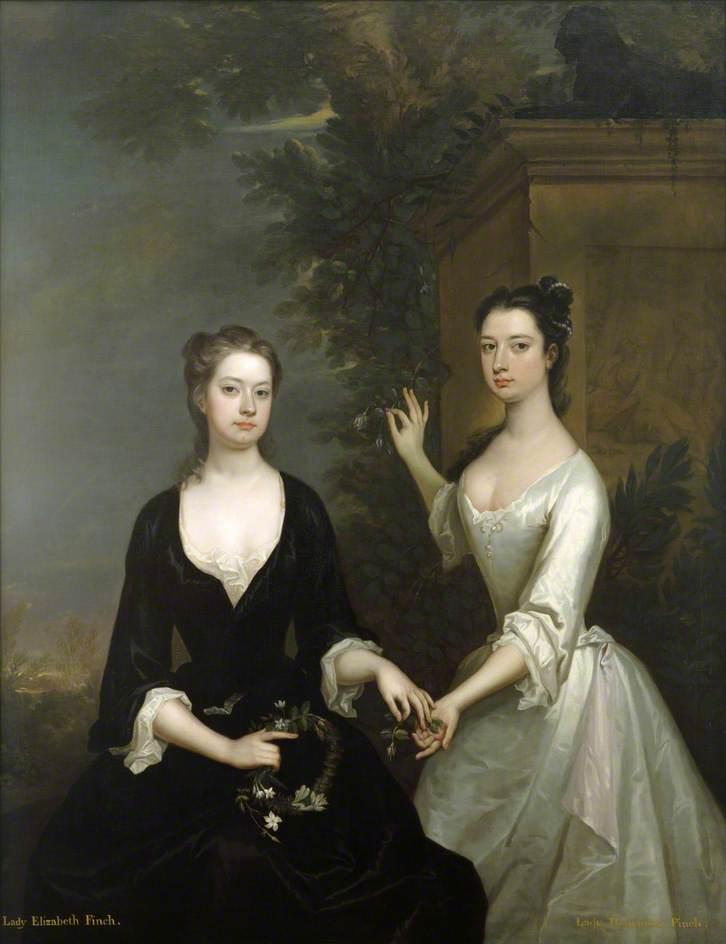 Lady Elizabeth and Lady Henrietta Finch
