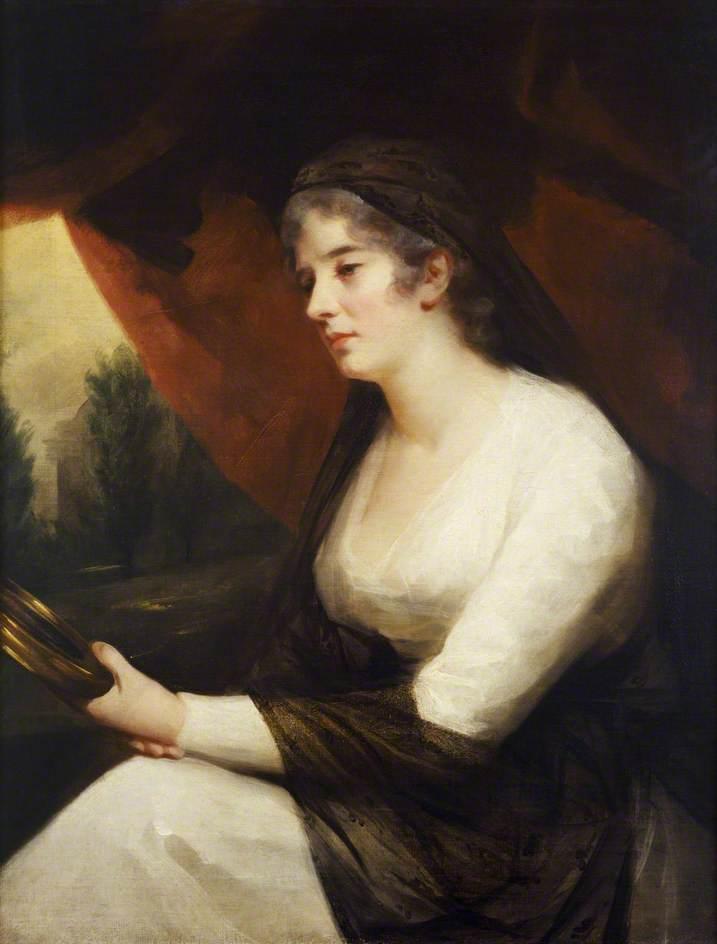Mrs Johnstone as 'Contemplation'