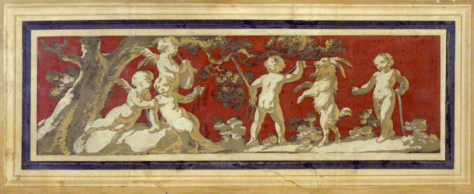 Putti with Goats